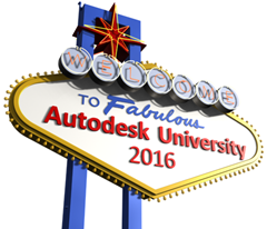Welcome to Autodesk University 2016 Sign
