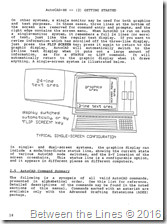AutoCAD 86 version 1.40 manual circa February 1984
