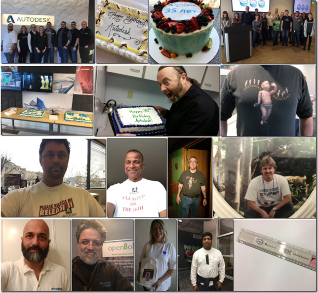 Autodesk 35th Birthday Photos
