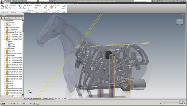 Project Running Horse with Scan