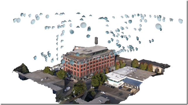 Screen capture showing the location of photos. We have an active FAA waiver to fly in this class c airspace location.