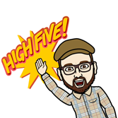 High Five! Bitmoji Shaan