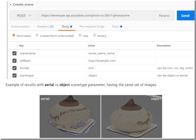 Reality Capture API is Now Available on the Autodesk Forge platform.