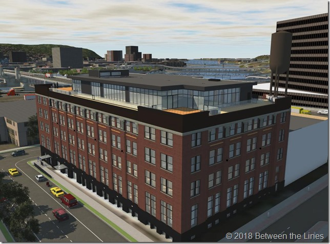 The Autodesk Portland office in Autodesk Infraworks.