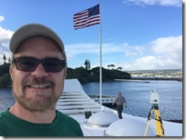 Laser Scanning from the top of the USS Arizona Memorial