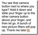 iPhone photo prank