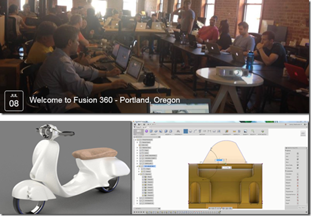 Learn Autodesk Fusion 360 in-person