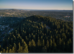 Aerial photo of Mt Tabor Park