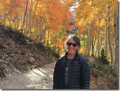 Amy in Little Cottonwood Canyon Utah