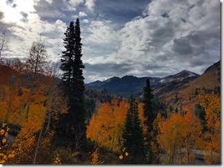 Little Cottonwood Canyond Fall Colors