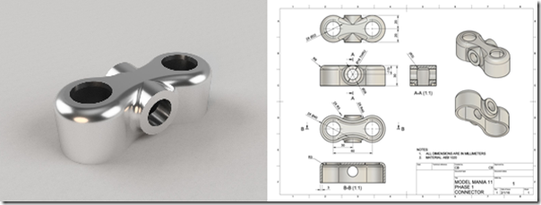 The SolidWorks Model Mania Challenge for an Autodesk Fusion 360 Newbie