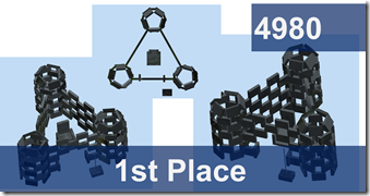 first place castle design from Team 4980