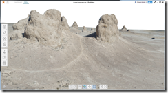 3D Textured Model of Trona Pinnacles