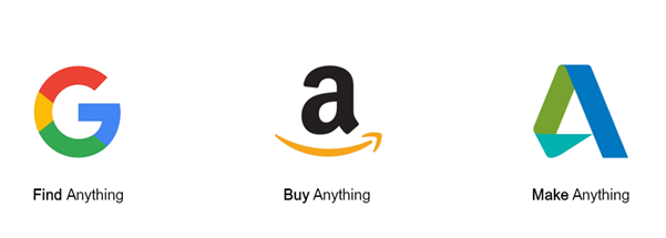 Google is Find Anything - Amazon is Buy Anything - Autodesk is Make Anything