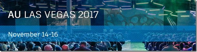 Autodesk University 2017 Call For Proposals