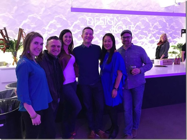 Some of the Autodesk employees at Design Night Portland