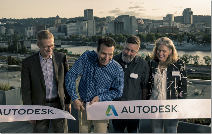 Autodesk Portland Ribbon Cutting
