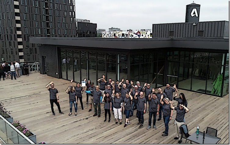 Autodesk Employees in Portland who participated in the Wine to Water Month of Impact Event