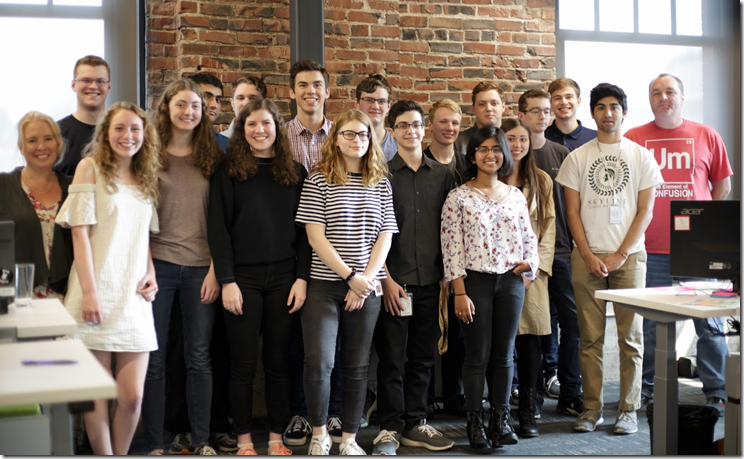 Autodesk Portland-  High School Interns