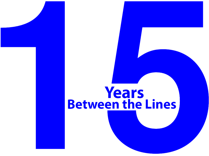 15 Years of Betwen the Lines Blog
