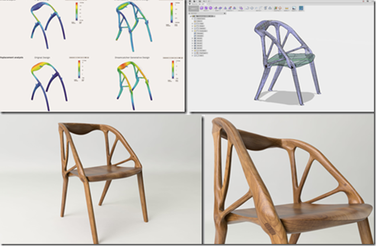Generative Designed Elbo Chair