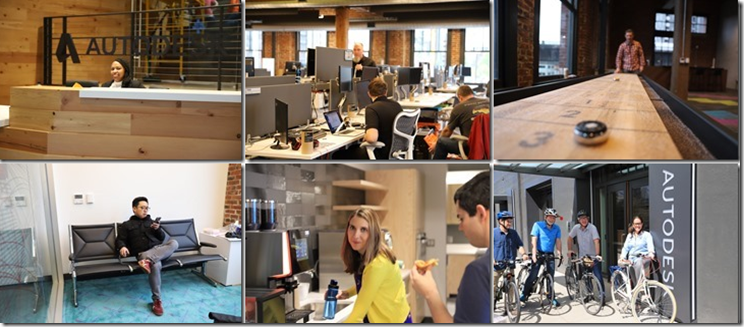 This new Autodesk Portland office is amazing, but the people inside that make it even more special of a workplace.