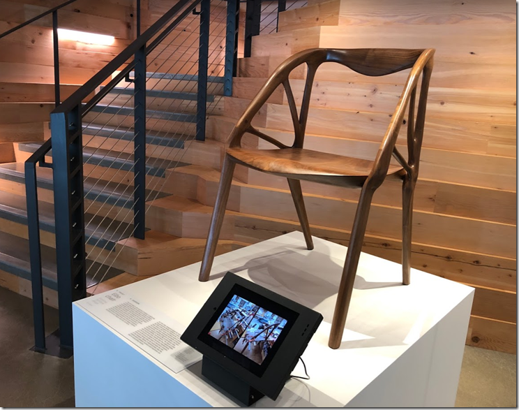 Elbo Chair in Autodesk Portland Lobby