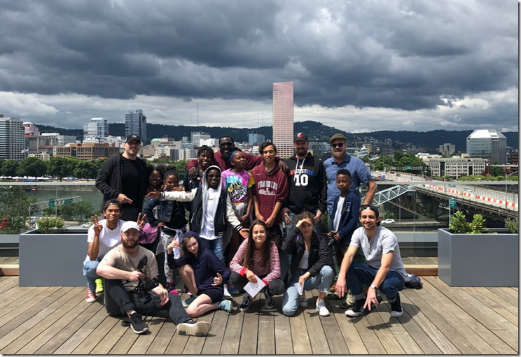 2018 Hip Hop Architecture Camp in Portland