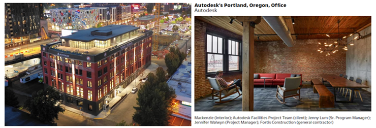 Innovation by Design Nomination for Autodesk Portland Office