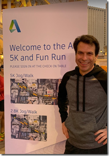 Autodesk CEO Andrew Anagnost in the AU5K