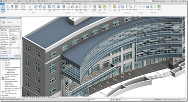 Revit 2018 screenshot from Revit Team member Sasha Crotty