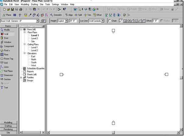 Revit 6.0 screenshot from Revit Team member Sasha Crotty: