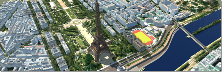 Eiffel Tower VR from Infraworks