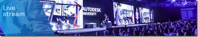 Autodesk University 2019 Live Stream