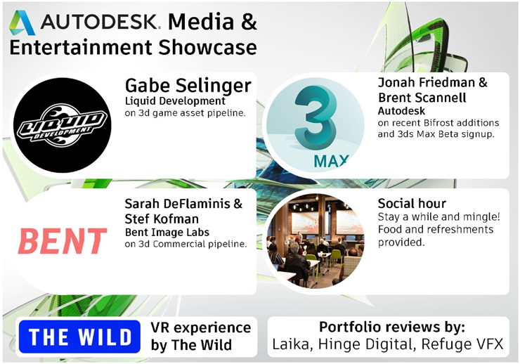 Autodesk Portland Media and Entertainment Speakers