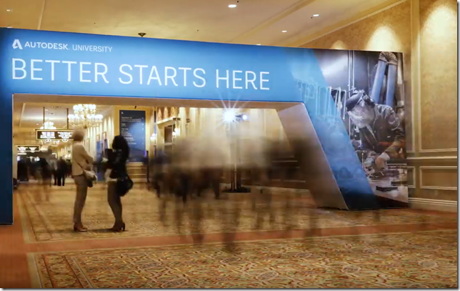 Autodesk University 2019 Day 2 Highlight Video