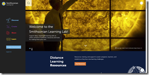 Distance Learning Resources from the Smithsonian