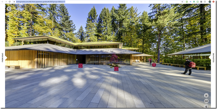 Check out the 360 tour covering some of the garden and architecture.