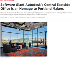 Software Giant Autodesk's Central Eastside Office Is an Homage to Portland Makers | Portland Monthly
