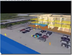 People Mobility and Design Simulations