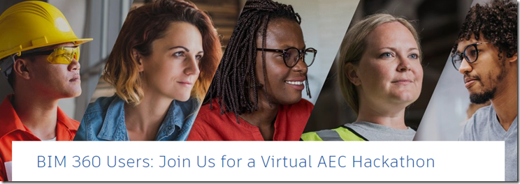 BIM 360 Users: Join Us for a Virtual AEC Hackathon