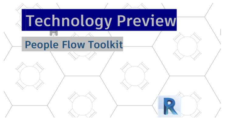 Revit 2020 - People Flow Toolkit