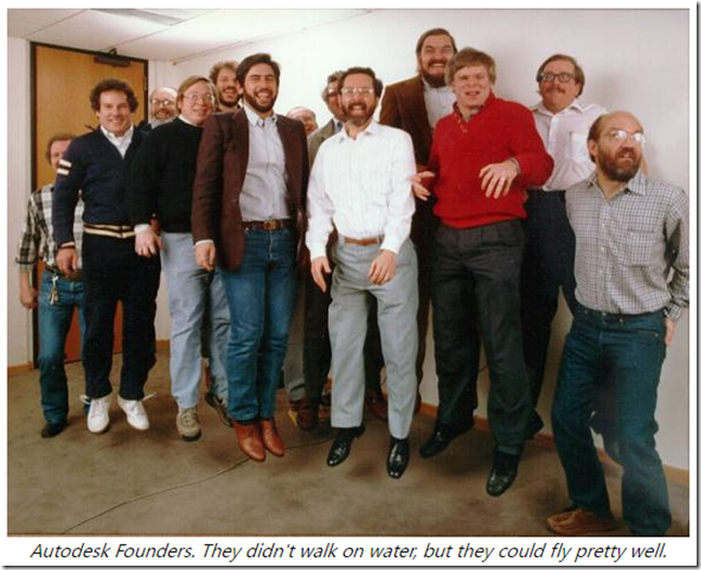 The Flying Founders of Autodesk