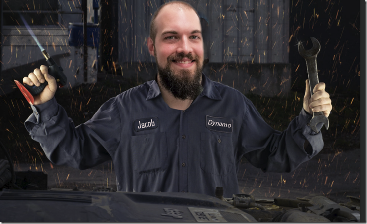 """MOdofoed """"Gregg the maniacal mechanic"""" by MattysFlicks is licensed under CC BY 2.0"""