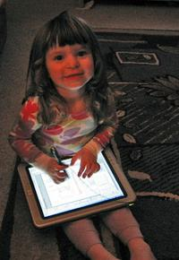 Katelyn and TabletPC