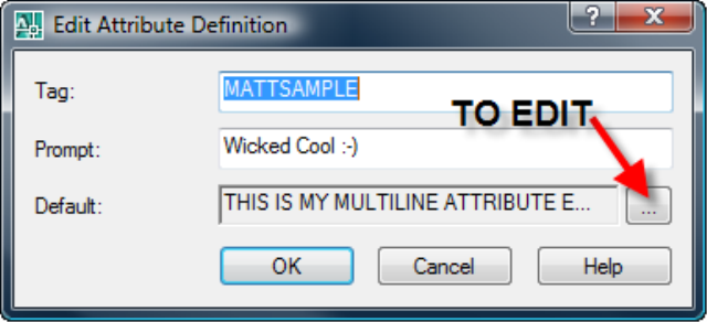 AutoCAD 2008: MATTs (Multiline Attributes) (Between the Lines)