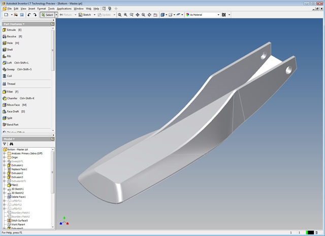 Autodesk Labs: Autodesk Inventor LT Technology Preview