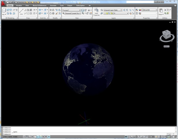 Autocad 3d earth drawing download earth day in autocad 2009 earth night in autocad 2009 gumiabroncs Choice Image