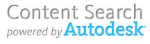 Powered by Autodesk Content Search