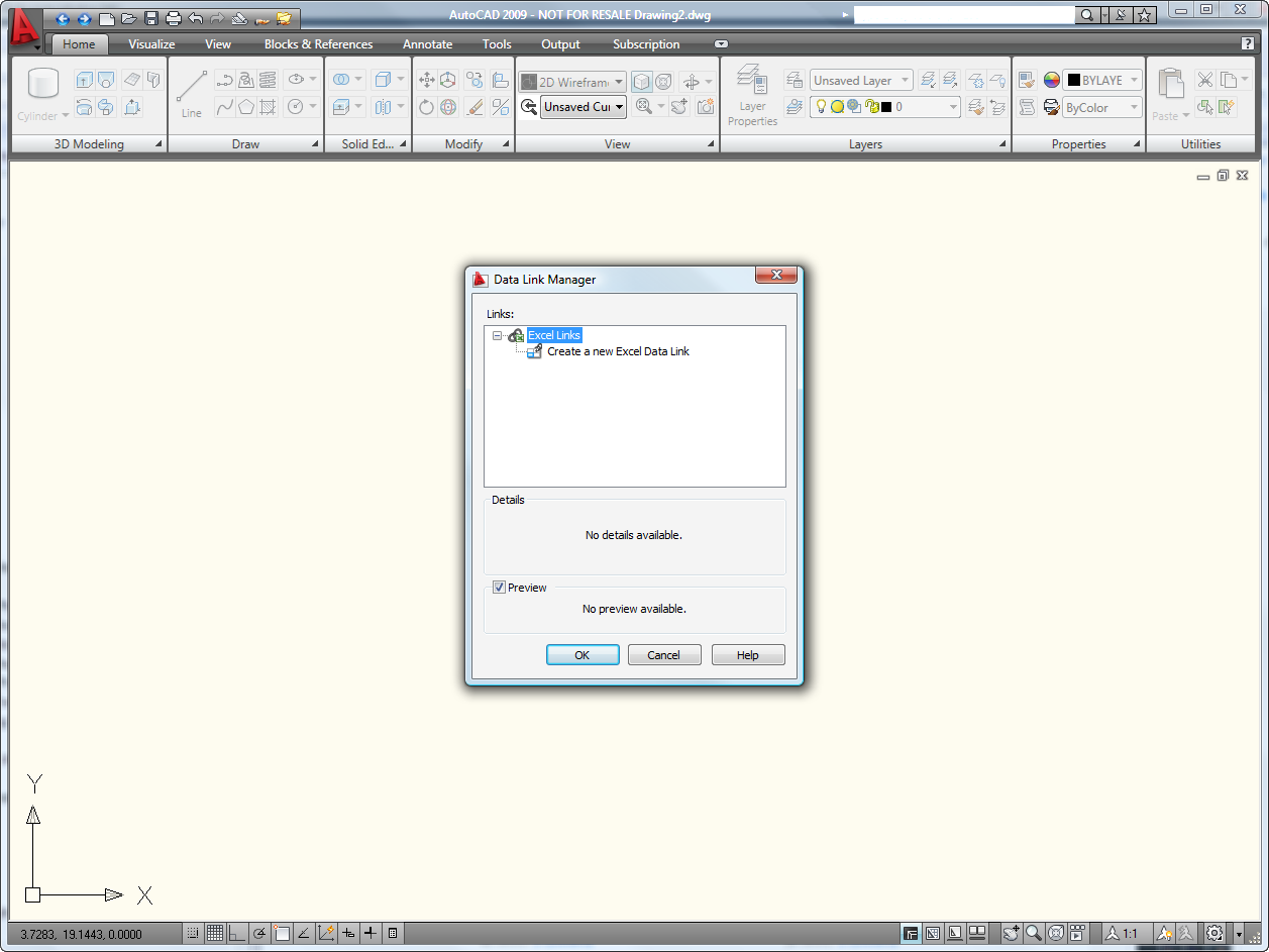 Between the lines tipsn tricks autocad 2009 data link manager biocorpaavc Choice Image